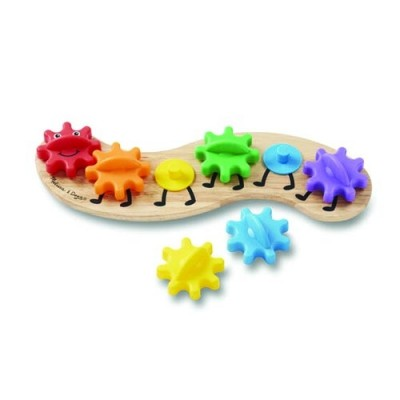 MELISSA & DOUG Caterpillar Gears Toddler Toy