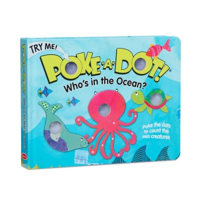 MELISSA & DOUG Poke-A-Dot: Who's in the Ocean