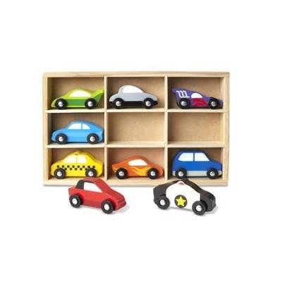 MELISSA & DOUG Wooden Cars Set