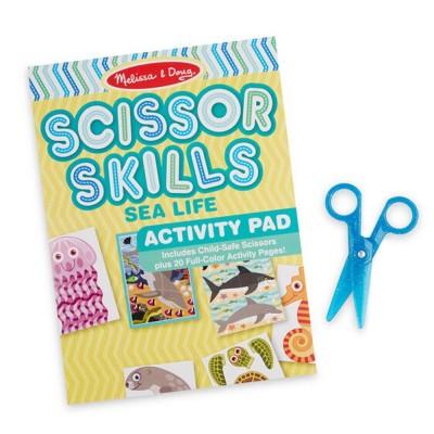 MELISSA & DOUG Sea Life Scissor Skills Activity Pad