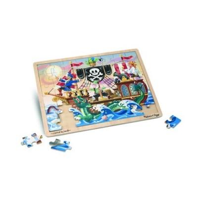 MELISSA & DOUG Pirate Adventure Jigsaw Puzzle - 48 Pieces