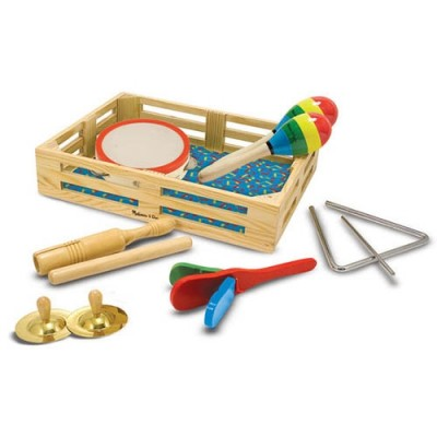 MELISSA & DOUG Clap! Clang! Tap! Band-in-a-Box