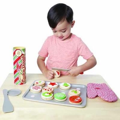 MELISSA & DOUG Slice & Bake Christmas Cookie Play Set