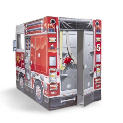 MELISSA & DOUG Cardboard Structure - Fire Truck