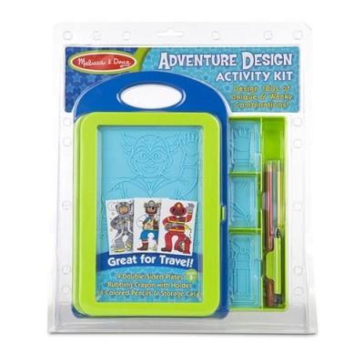 MELISSA & DOUG Adventure Design Activity Kit