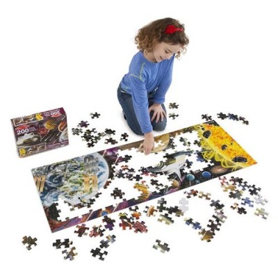 MELISSA & DOUG Exploring Space - 200 Piece Floor Puzzle