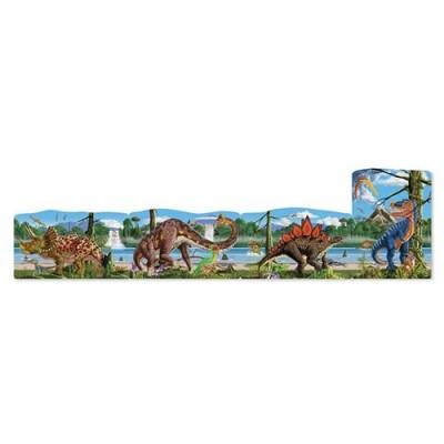 MELISSA & DOUG Dinosaurs Linking Floor Puzzle (96 pcs)