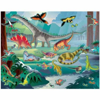 MELISSA & DOUG Reusable Sticker Pad - Prehistoric