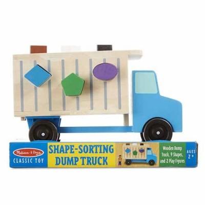 MELISSA & DOUG Shape-Sorting Dump Truck