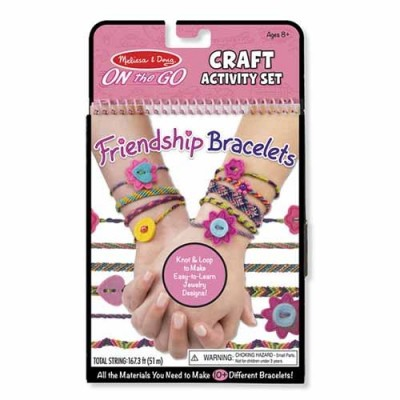 MELISSA & DOUG On-the-Go Crafts - Friendship Bracelets