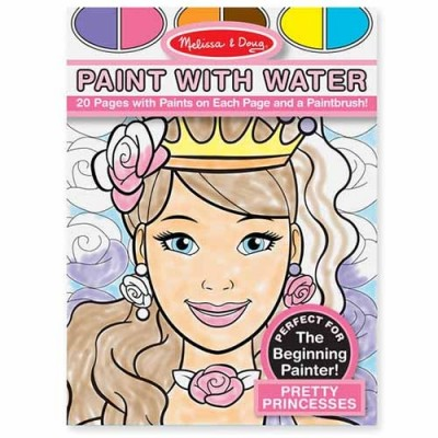 MELISSA & DOUG Paint with Water - Pretty Princesses