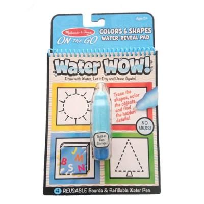 MELISSA & DOUG Water Wow! Colours & Shape