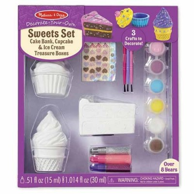 MELISSA & DOUG Decorate Your Own - Sweets Set