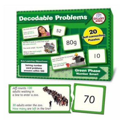SMART KIDS Decodable Word Problems (four operations) to 100