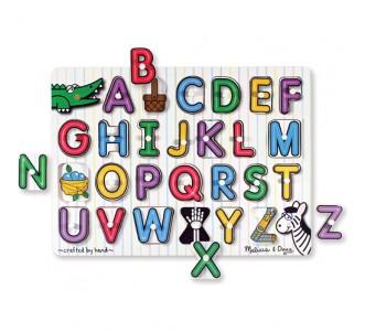 MELISSA & DOUG See Inside Alphabet Peg