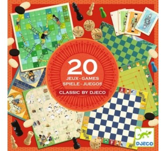 DJECO 20 Classic Games Set