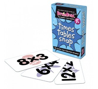 GREEN BOARD GAME CO Snap Time Tables