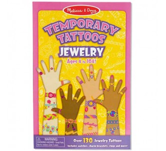 MELISSA & DOUG Temporary Tattoos Jewelry