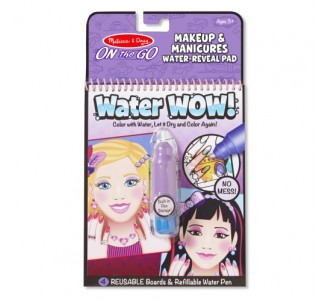 MELISSA & DOUG Water Wow! Make-Up & Manicures