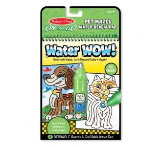 MELISSA & DOUG Water Wow! Pet Mazes