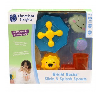 EDUCATIONAL INSIGHTS Bright Basics Slide & Splash Spouts