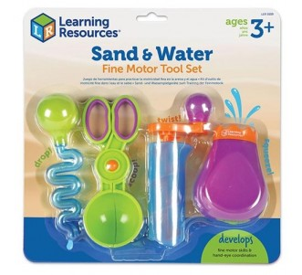LEARNING RESOURCES Sand & Water Fine Motor Set