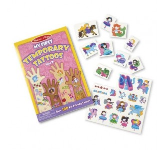 MELISSA & DOUG Temporary Tattoos Girl