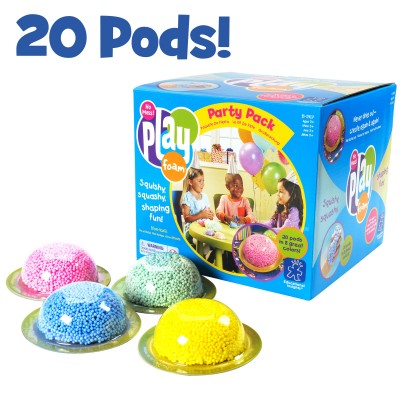 EDUCATIONAL INSIGHTS Playfoam Party Pack, Set of 20 Pods