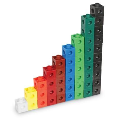 JANIE & JOE Snap Cubes (Set of 100)