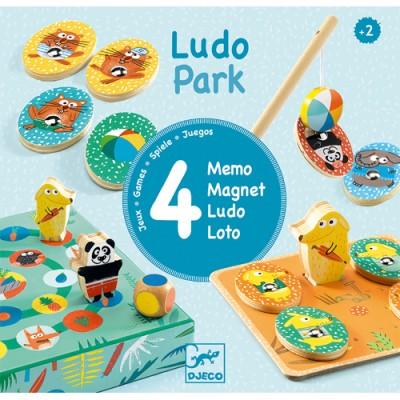 DJECO Ludo Park 4 Games
