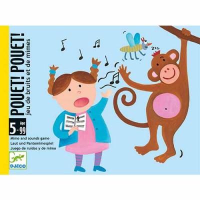 DJECO Pouet! Pouet! Card Game
