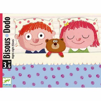 DJECO Bisou Dodo 'Night night kisses' Card Game