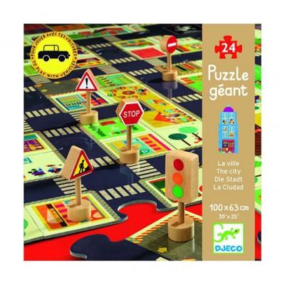 DJECO Giant Floor Puzzle - The City