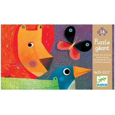 DJECO Giant Floor Puzzle - Animal Parade