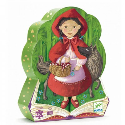 DJECO Silhouette Puzzle - Little Red Riding Hood