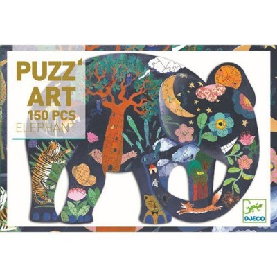 DJECO Puzz' Art - Elephant 350pcs
