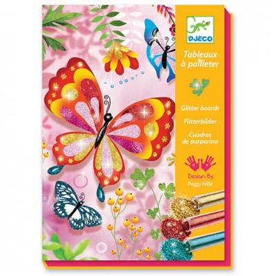 DJECO Glitter Sand Butterflies