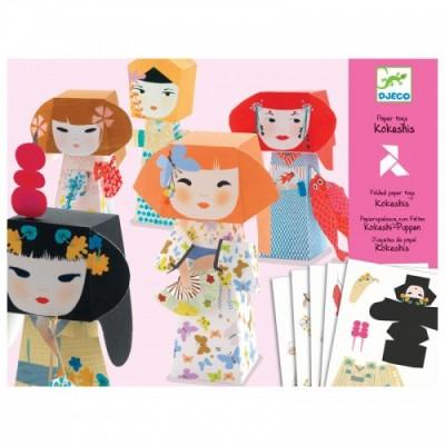 DJECO Kokeshis - Paper Toys