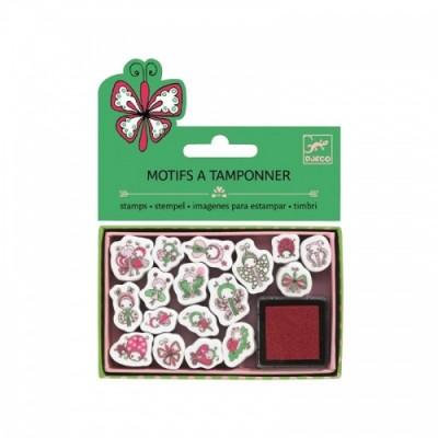 DJECO Ladybirds & Butterflies Mini Stamps