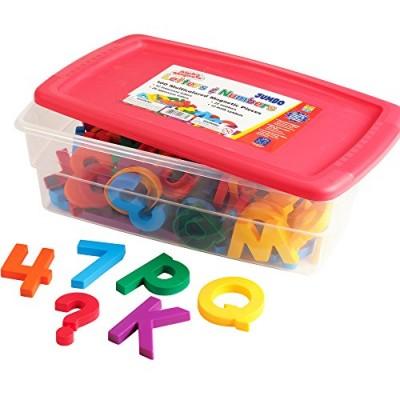EDUCATIONAL INSIGHTS Jumbo Multicolour Alpha & Mathmagnet