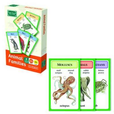 GREEN BOARD GAME CO Animal Families