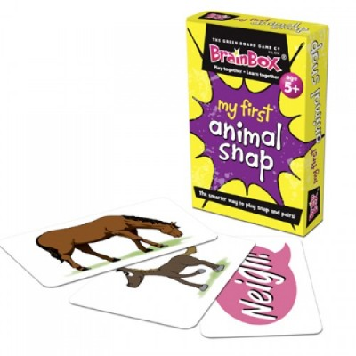 GREEN BOARD GAME CO Snap First Animal