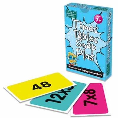 GREEN BOARD GAME CO Snap Times Tables Plus