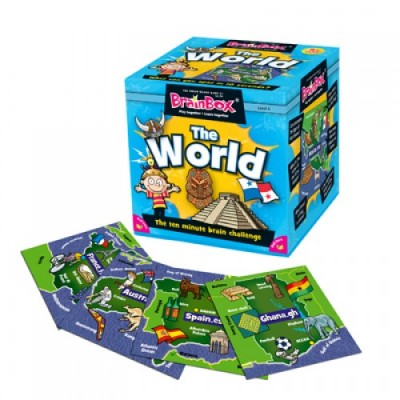 GREEN BOARD GAME CO Brainbox The World