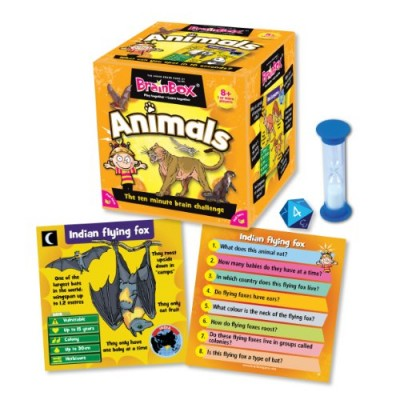 GREEN BOARD GAME CO Brainbox Animals