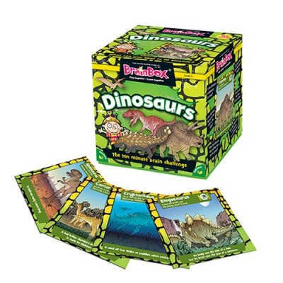 GREEN BOARD GAME CO Brainbox Dinosaurs