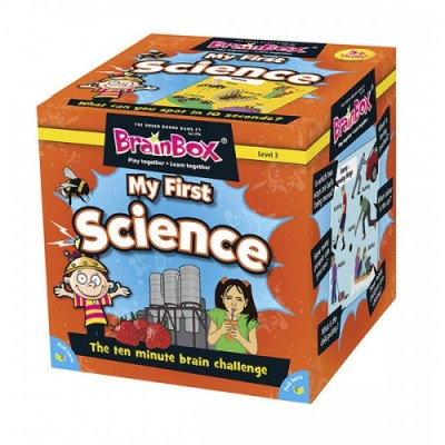 GREEN BOARD GAME CO Brainbox My First Science