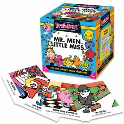 GREEN BOARD GAME CO BrainBox Mr Men Little Miss