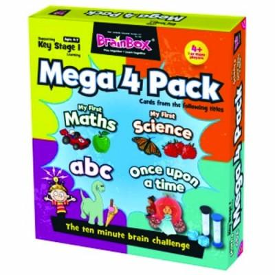 GREEN BOARD GAME CO Brainbox Mega Pack KS1