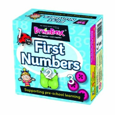 GREEN BOARD GAME CO Brainbox First Numbers